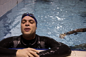 Michele Carofiglio Atleta Just Apnea