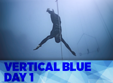 Vertical Blue day 1